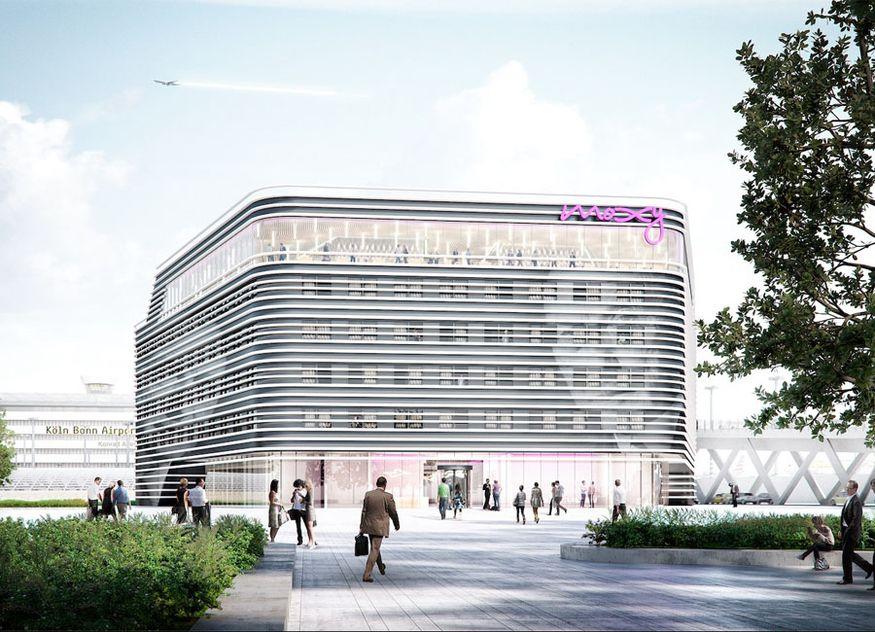 Das neue Moxy am Flughafen Köln Bonn wurde von Art-Invest Real Estate realisiert. Die GHotel Group wird das Haus unter einer Franchise-Lizenz von Marriott International betreiben