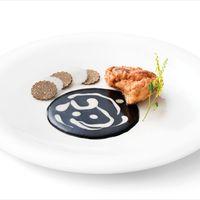 Debic Gastronomie Rezept Kalbsbries in Eihülle weiße Kalbssauce Trüffelsauce