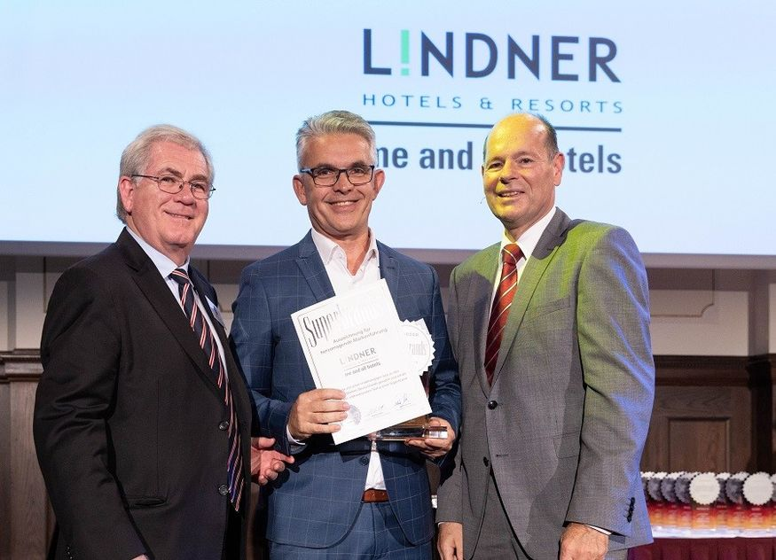 Lindner Hotels Auszeichnung Superbrand