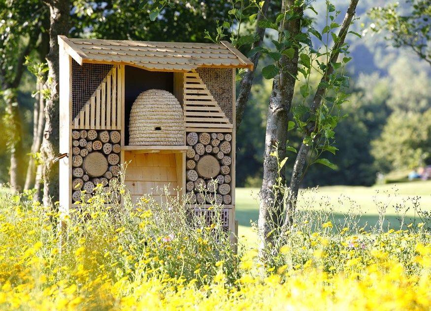 Lindner Hotel Insektenhotel Insekten