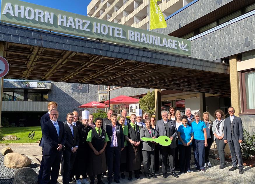 Die Ahorn Hotels & Resorts übernehmen alle 47 Mitarbeiter des ehemaligen Maritim Berghotel Hotels Braunlage