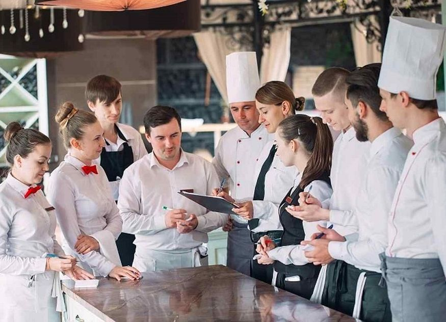 Küche Profiküche Koch Bankett Leitung