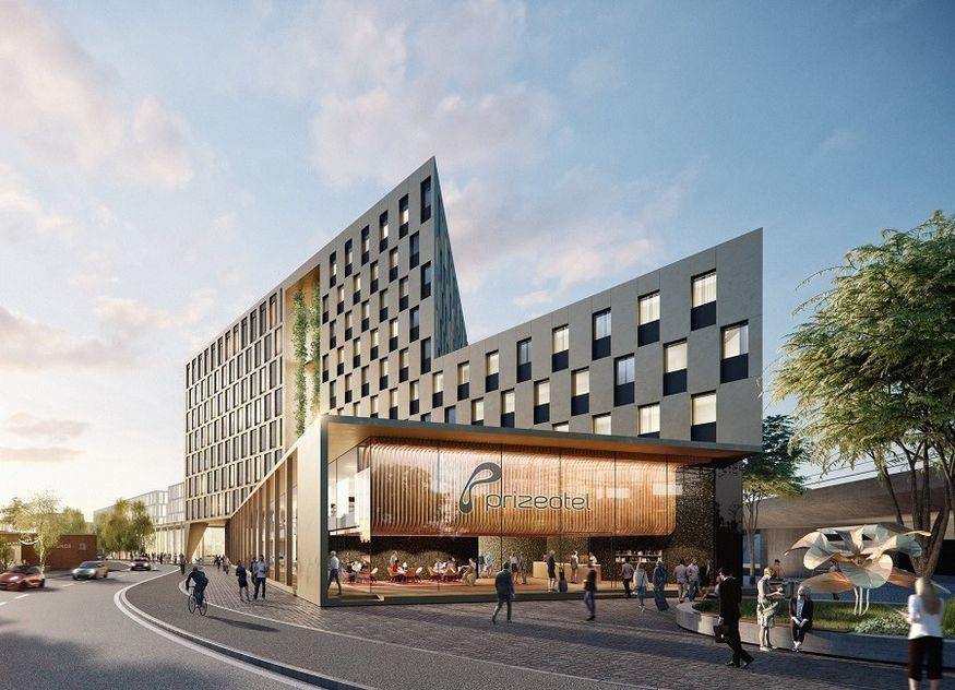 prizeotel Bochum Visualisierung Hotel Bermudadreieck
