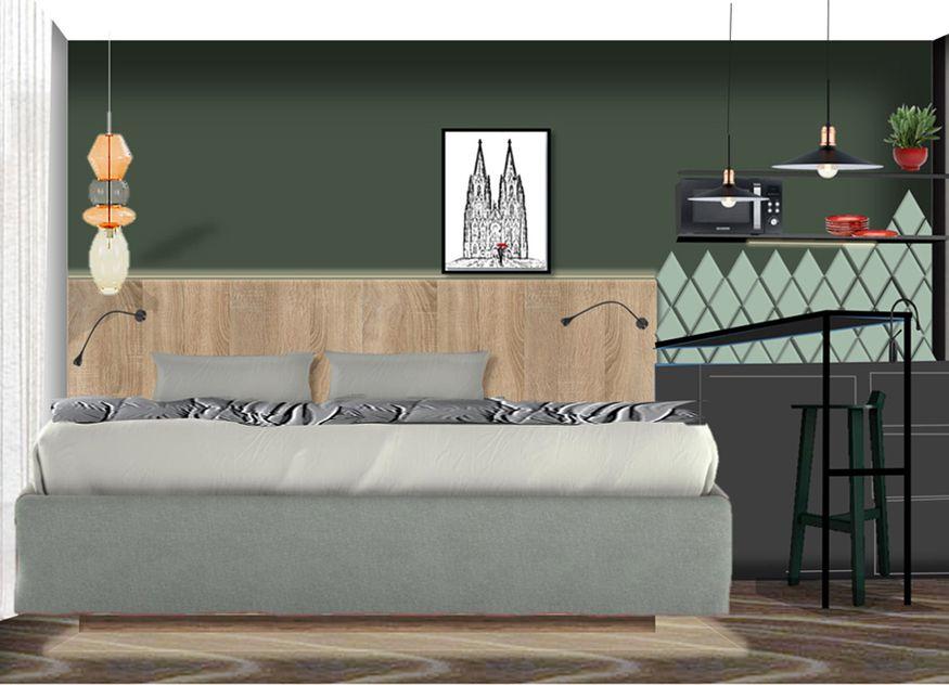 Die Hotelgruppe Achat Hotels hat ihr Design-Rollout gestartet, unter anderem werden auch alle Hotelzimmer neu gestaltet