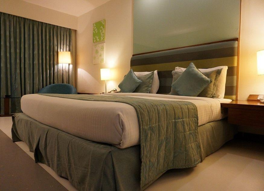 Hotel Hotelzimmer Bett