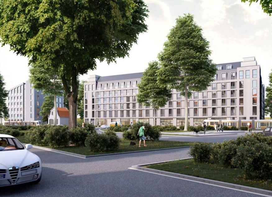 prizeotel Dresden-City Rendering