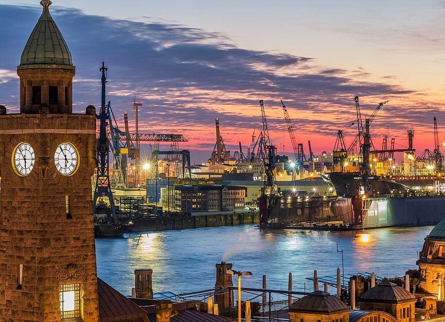 Hamburg Hafen Michel