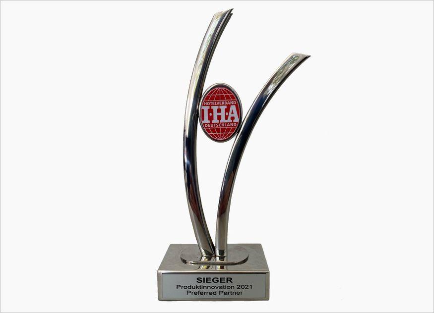 Der Gewinner für die Produktinnovation des Jahres wird im Rahmen des Jahreskongresses der IHA am 21. September 2021 im Mercure Hotel MOA in Berlin gekührt