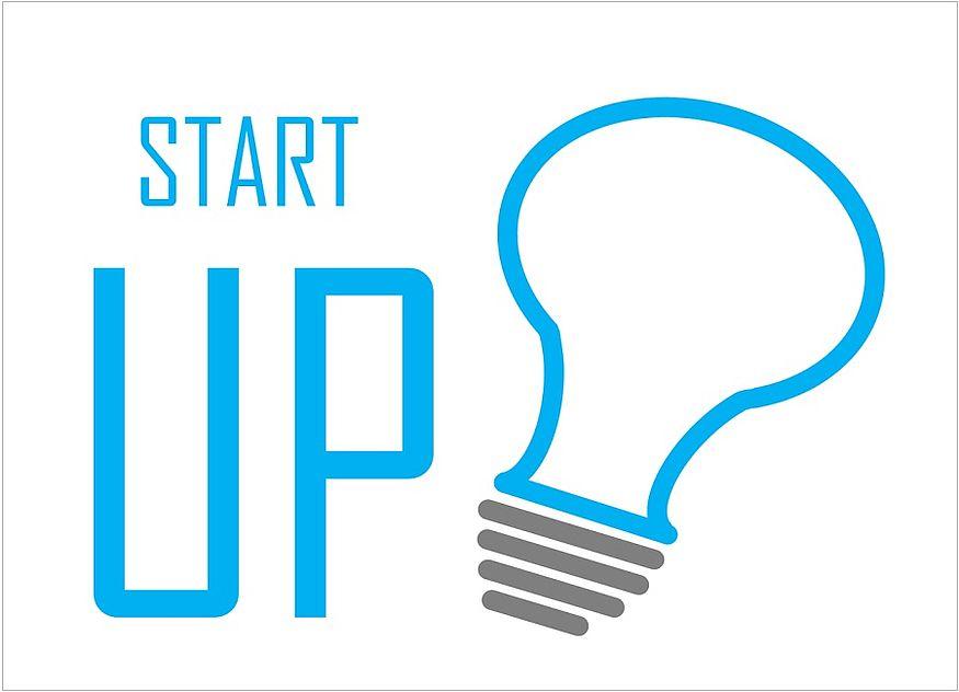 Start-up Gründer Glühbirne