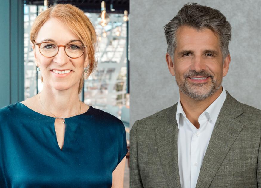 Merle Losem, Geschäftsführerin der Deutschen Hotelakademie, (links) und Otto Lindner, IHA-Vorsitzender, freuen sich über das gemeinsame Projekt und finden es wichtig, sich für den Nachwuchs zu engagieren