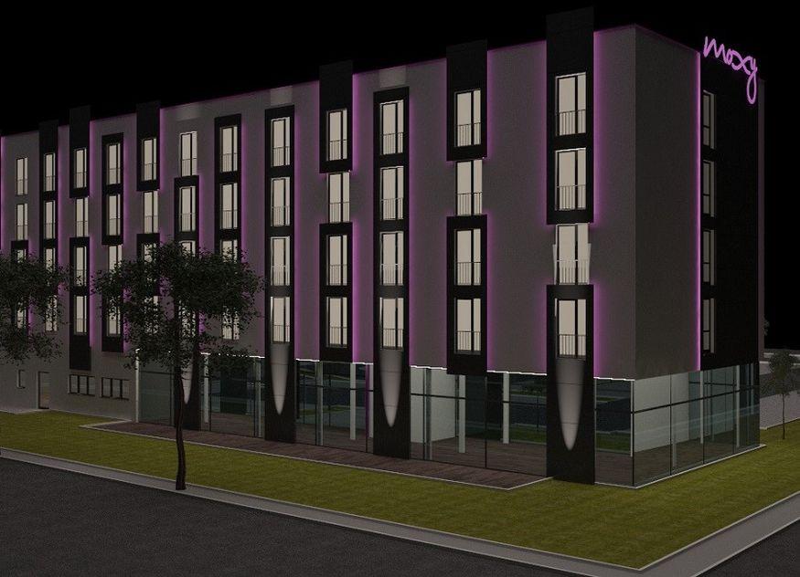 Moxy Simmern Visualisierung Hotel