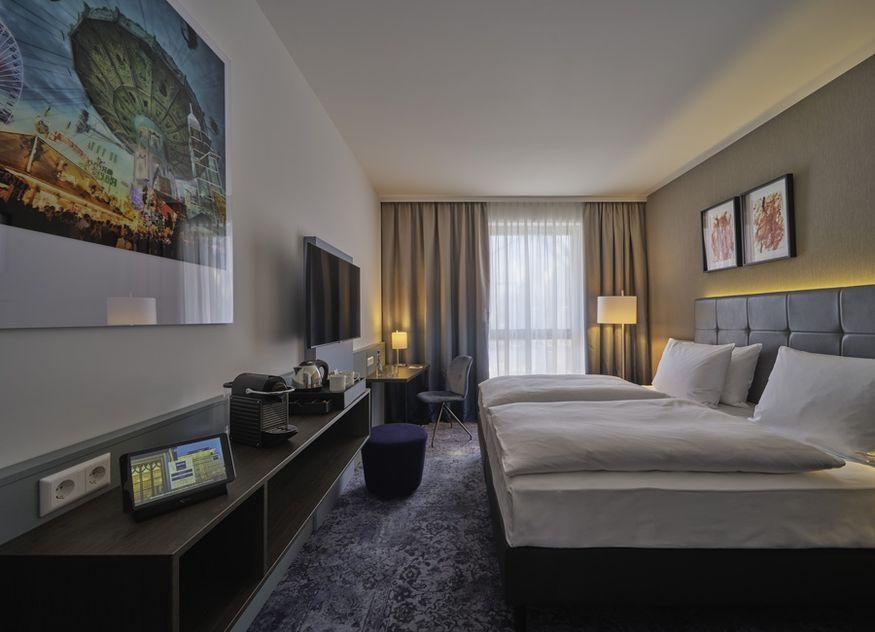 Das neue Dorint Parkhotel Frankfurt/Bad Vilbel verfügt über 180 Zimmer. Seine Eröffnung ist für November 2021 geplant