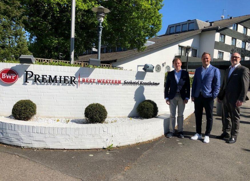 Best Western Premier Seehotel Krautkrämer Roman Schmitt Peter Gebhardt André Grimmert