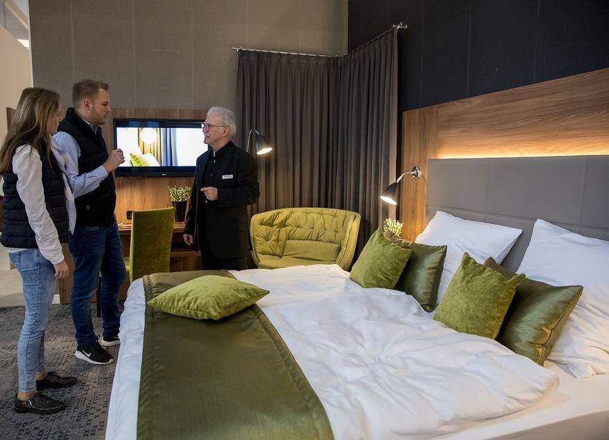Messe Stuttgart Intergastra Hotel Hotelbett