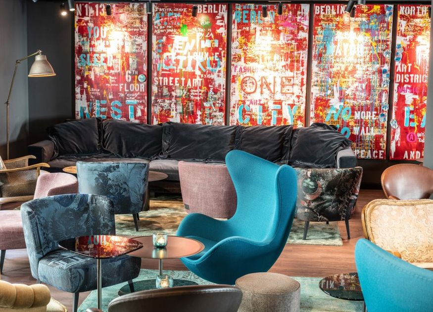 Motel One Berlin-Mitte Lobby Hotel