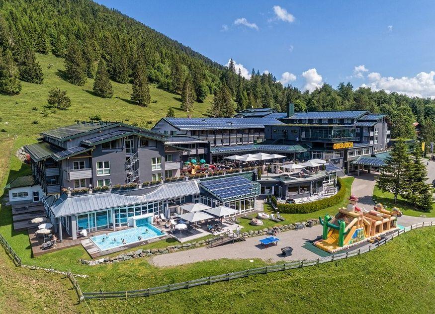 Familux Resort Oberjoch Gelände