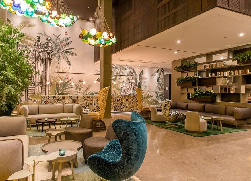 Motel One Lobby Lounge Barcelona