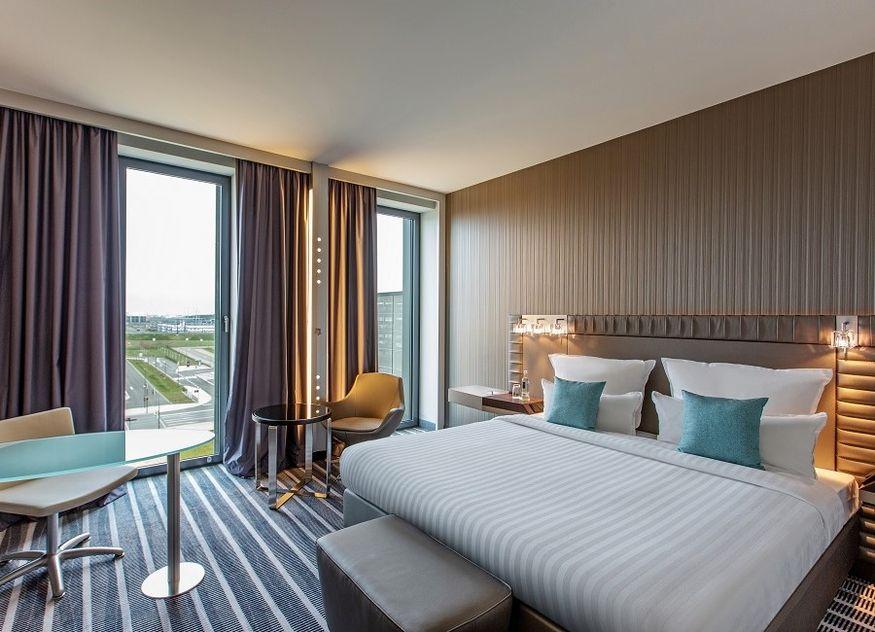 Steigenberger Airport Hotel Zimmer