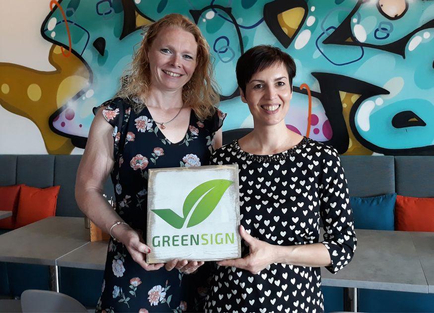 GreenSign Hotelmanagerin Ute Zachow the niu Hide Anne Schiefer Novum Hospitality