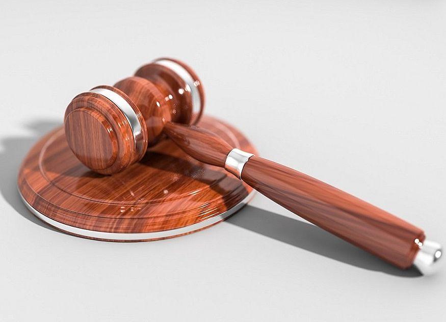 Recht Gericht Hammer