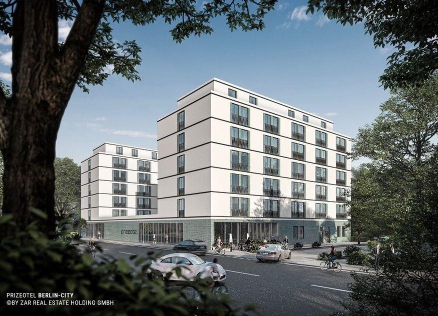 prizeotel Hotellerie Hotel Expansion Zar Real Estate Holding GmbH Berlin Prenzlauer Berg