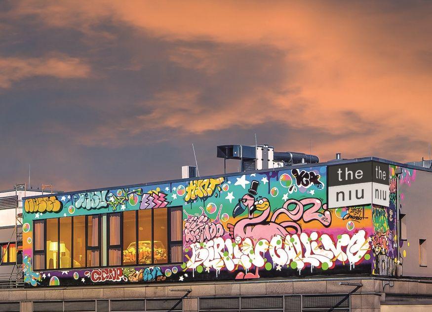 the niu Hide Berlin Dach