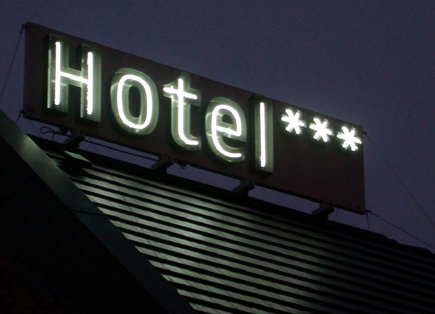 Hotel Schild drei Sterne