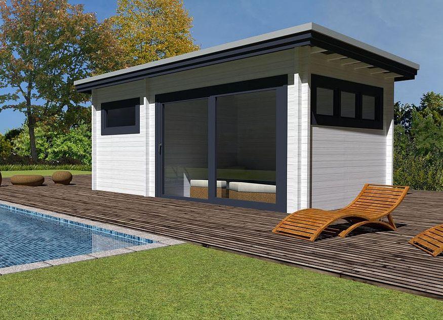Neue Sauna Und Poolhauser