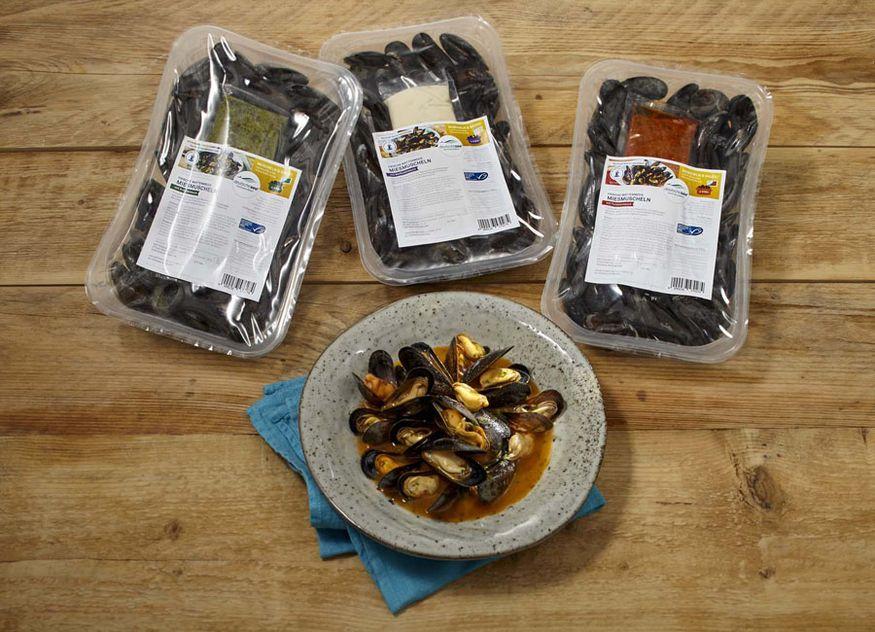Deutsche See Gastronomie Hotellerie Miesmuscheln Muschen Sauce drei Saucen