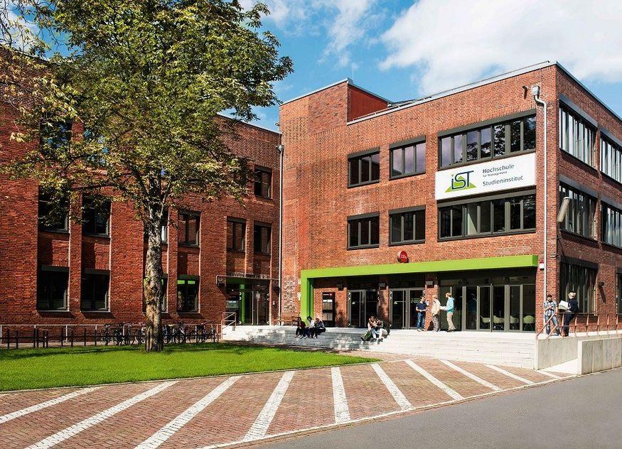 IST Hochschule Düsseldorf Campus Gebäude