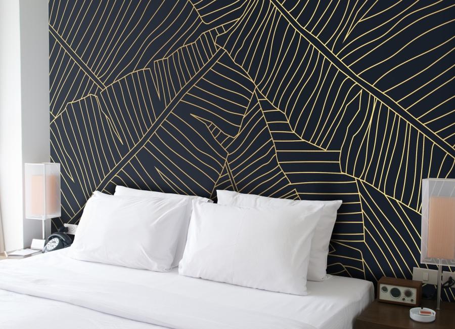 Wallstoxx von Brainstoxx Wanddesign Hotelzimmer