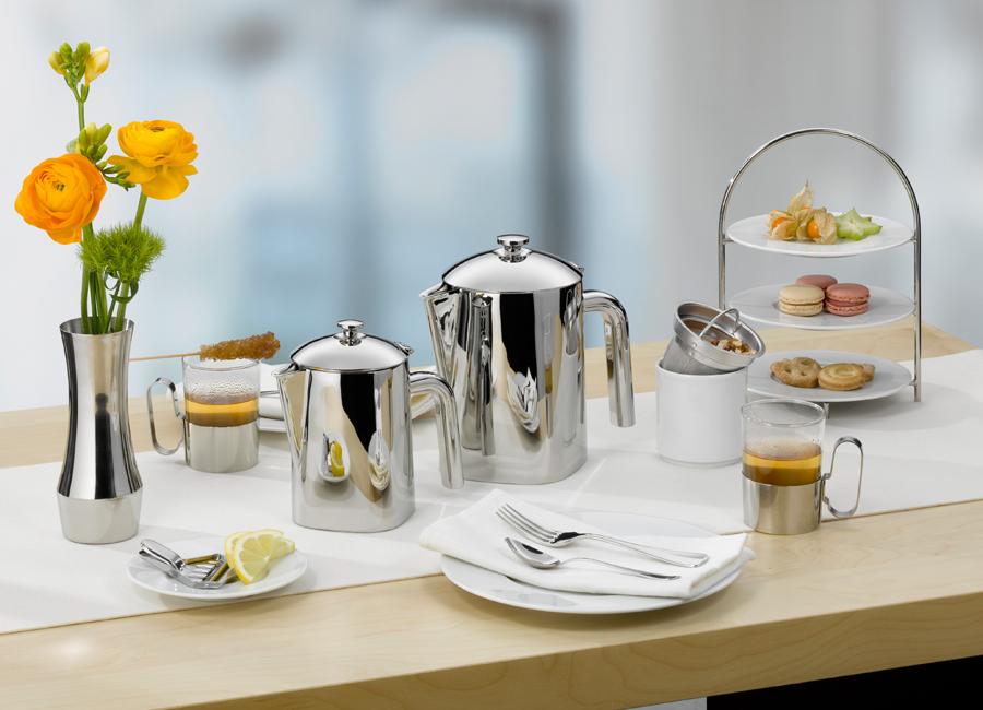 WMP Professional Hotellerie Gastronomie Compo Doppelwandkanne Kanne Formenwechsel