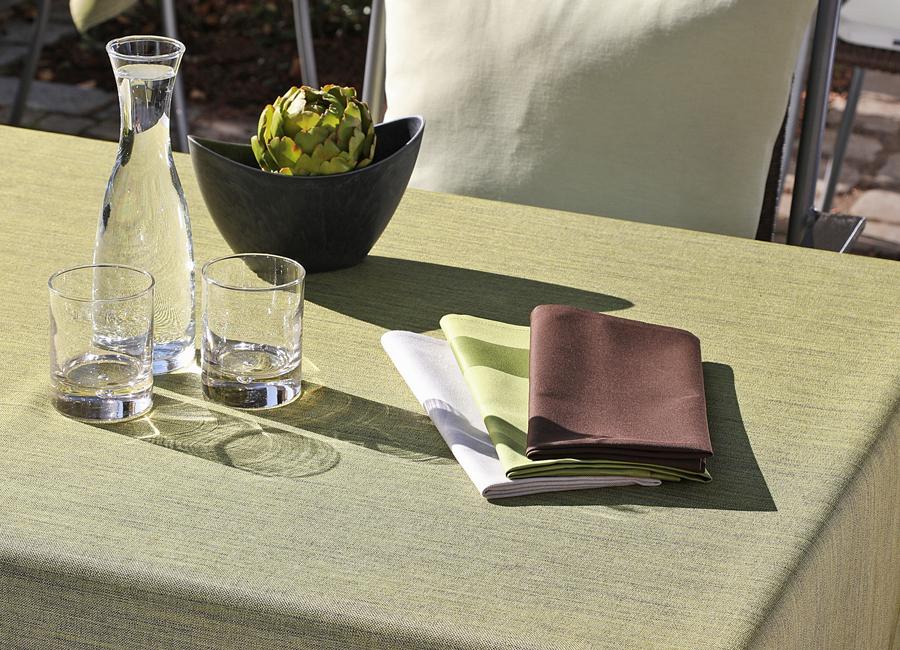 Wäschekrone Hotellerie GastronomieTischwäsche Garten Gartentischwäsche Fleckschutzausrüstung erleichterte Reinigung