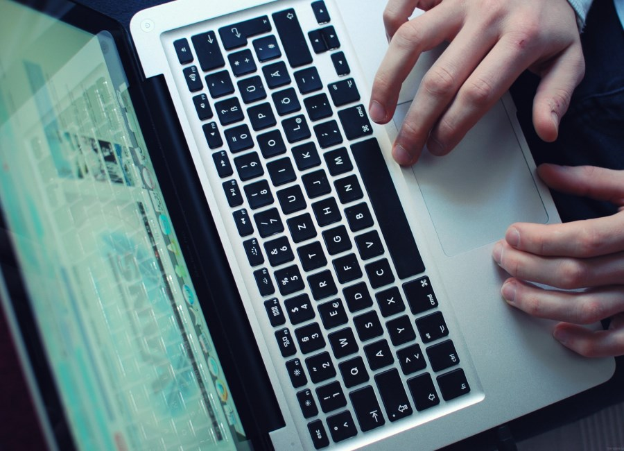 Computer PC Laptop Hände