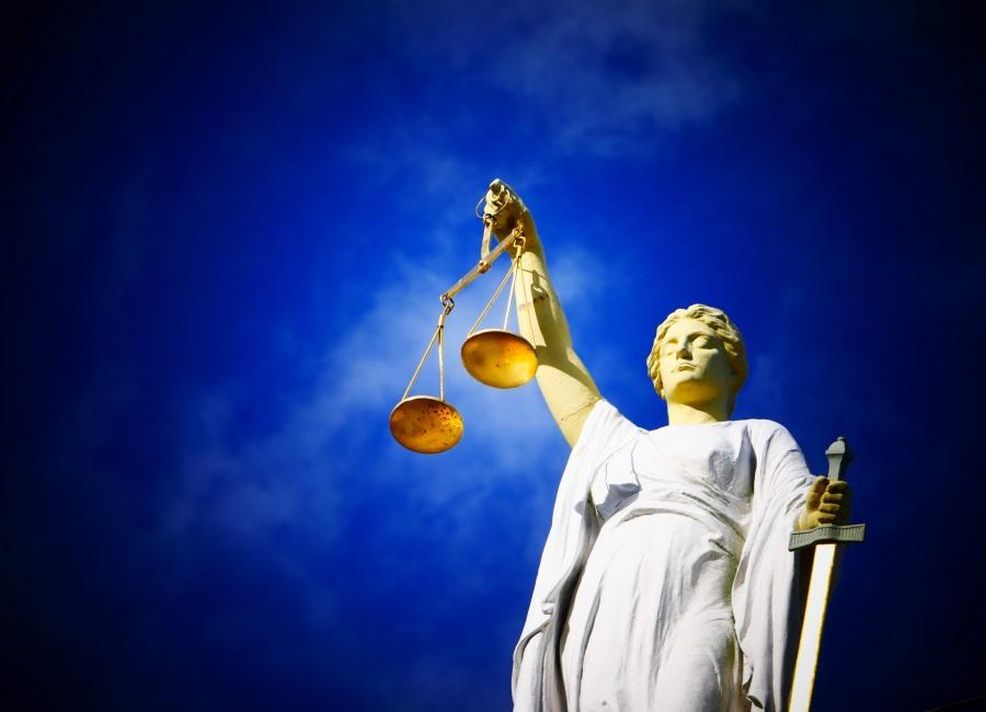 Justitia Gericht Recht