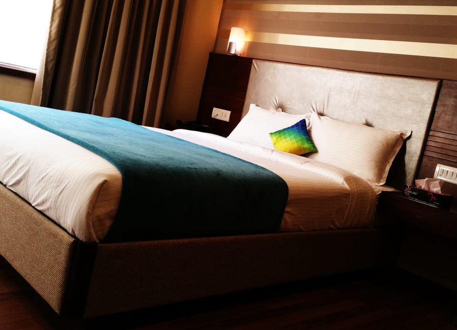 Hotelzimmer leer