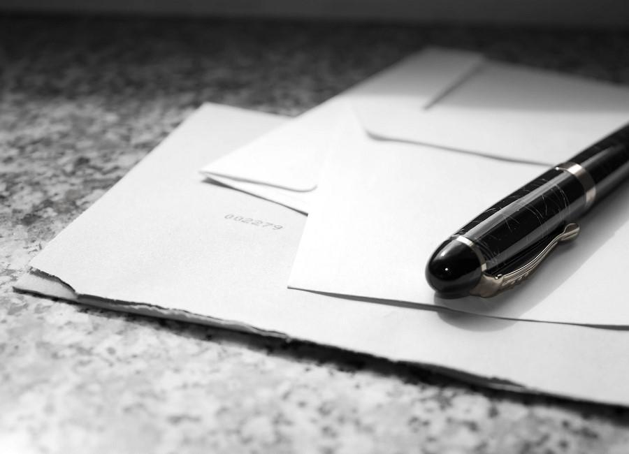 Papier Stift Briefe