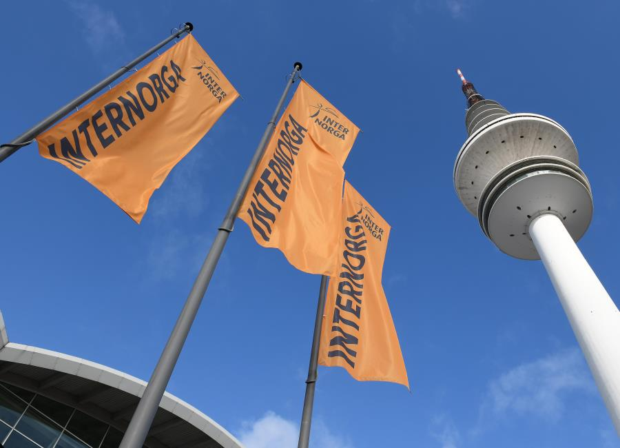 Internorga Fahnen Messe Hamburg