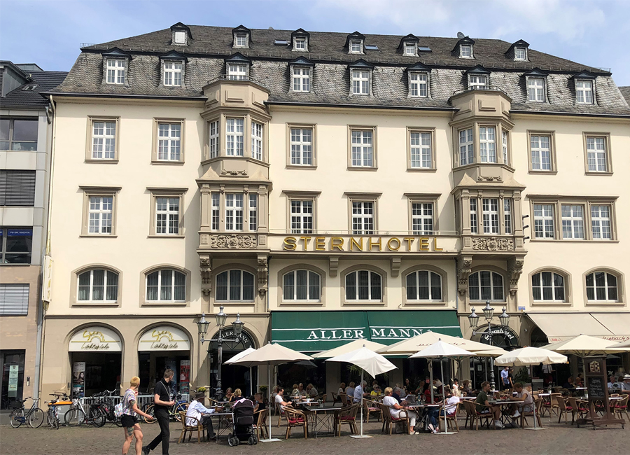Das zukünftige Achat Sternhotel Bonn blickt bereits auf eine 400-jährige Geschichte als Hotel zurück