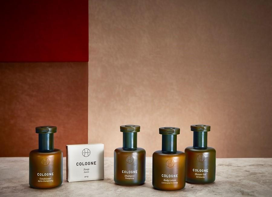 Duschgel Shampoo Bodylotion Seife Hotel Flaschen