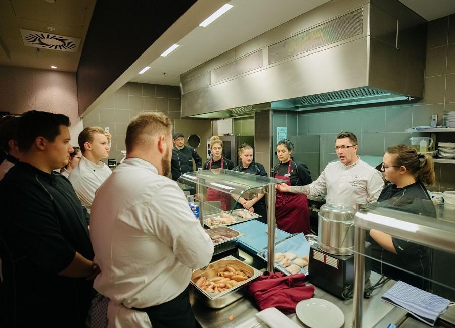 Küche Profiküche Köche Teilnehmer