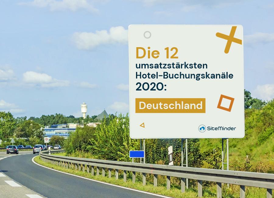 SiteMinder Analyse Buchungsportale 2020
