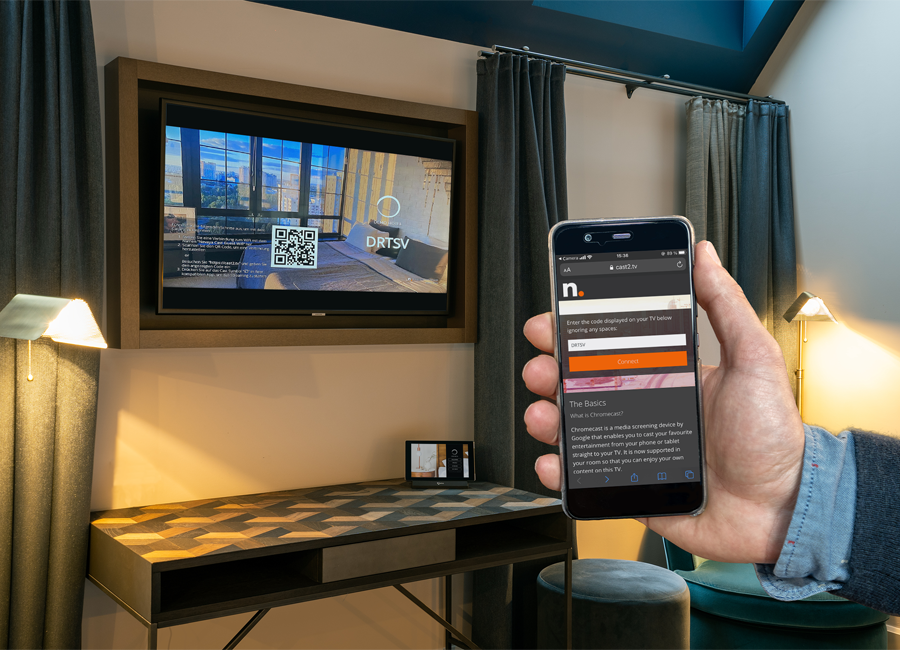 SuiteCast Streaming-Lösung von SuitePad