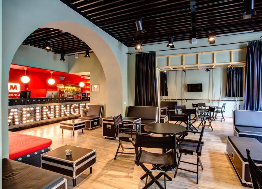 Meininger Hotel Lobby Rom Termini