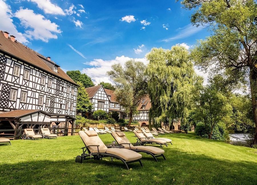 Das Hotel Neumühle Resort & Spa an der fränkischen Saale wagt mit einem Rebranding einen Neustart