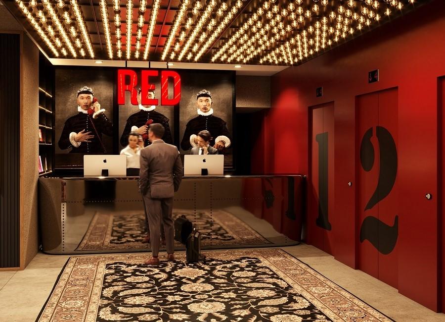 Radisson Red Cologne Hotel Lobby