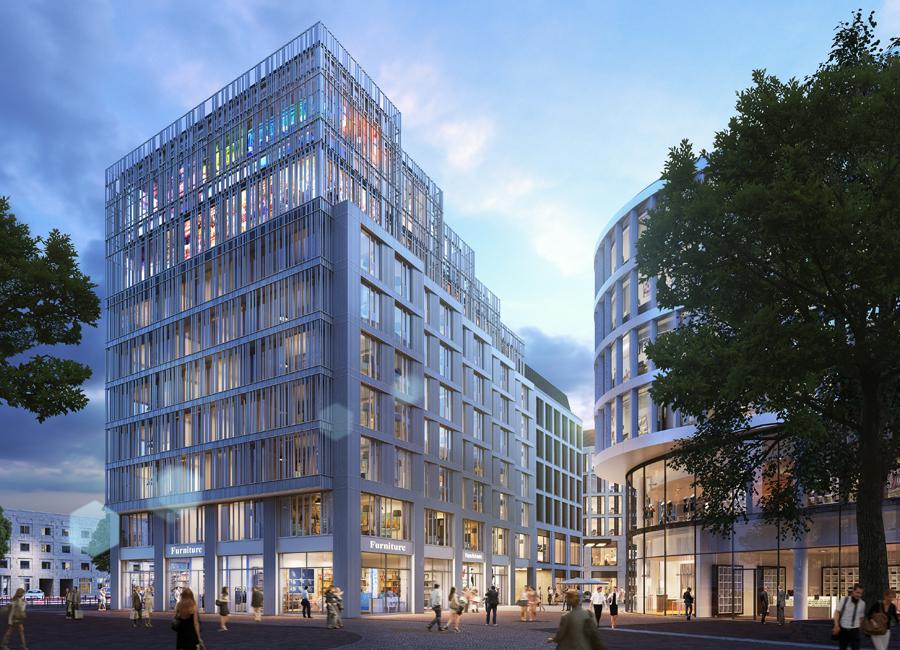 In Ulm eröffnet demnächst ein neuer Hotelkomplex der me and all hotels
