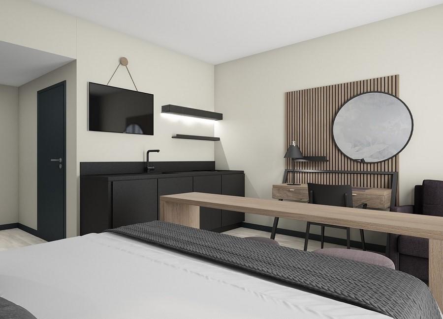 Arthotel ANA Living Karlsruhe Zimmer