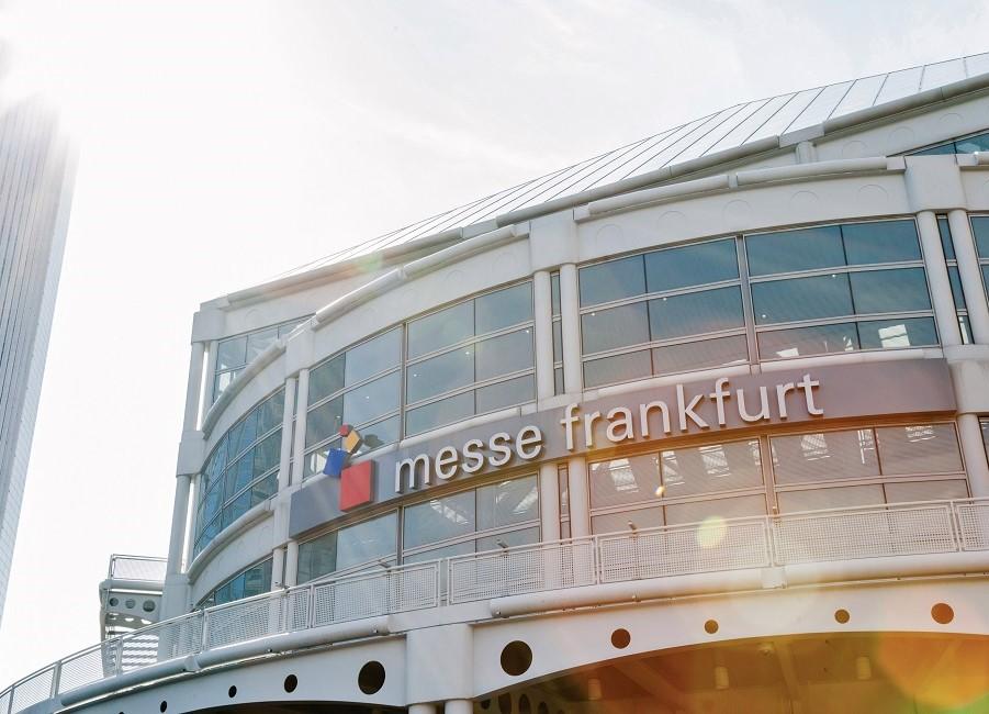 Messe Frankfurt Gebäude Eingang