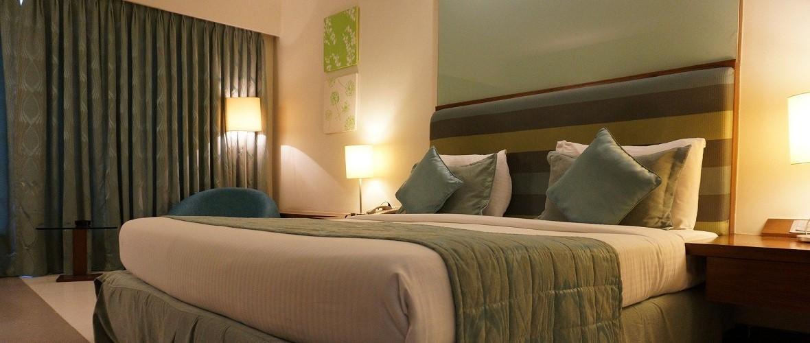Hotelzimmer Bett Hotel